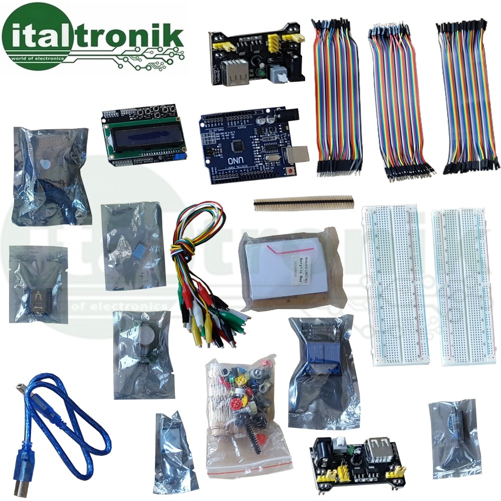 STARTER KIT ARDUINO UNO COMPATIBILE